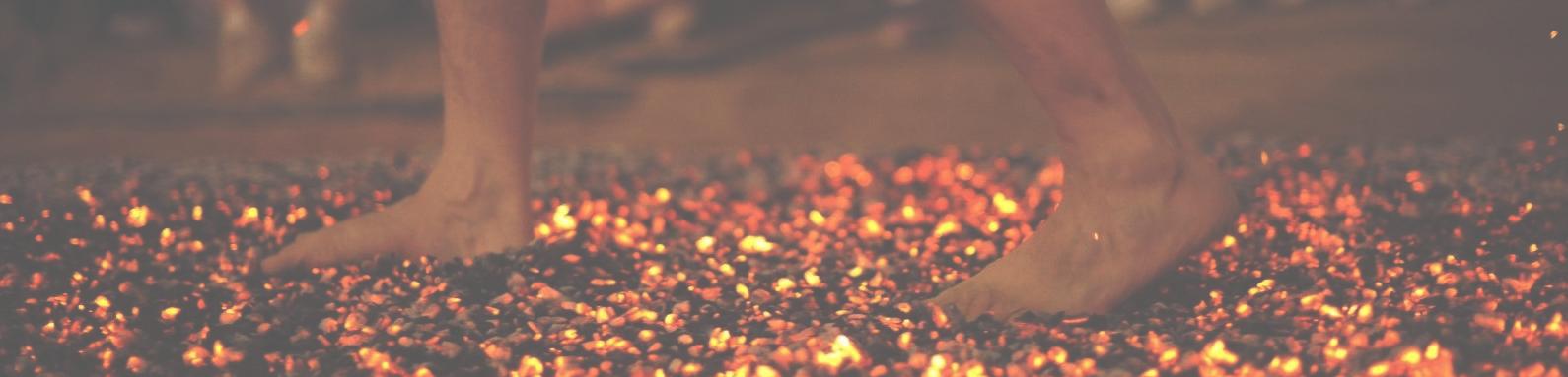 Angst Omzetten In Kracht: The Fire Walk